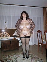 Mature in Stockings - Sexy Lingerie Moms