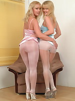 These lesbian pantymoms sure have a good time - Granny Girdles